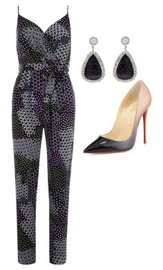 """Untitled #164"" by ragstoglory on Polyvore featuring Dorothy Perkins, Christian Louboutin and Vanilo"