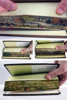Edgy Art: Fore-Edge Paintings Hidden in Historical Books