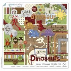 junior dinosaur digital kit