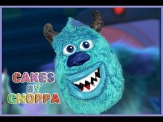 Sulley Cake - (How To)   Monster University collab with SimplyBakings