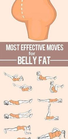 Effective moves for belly fat.