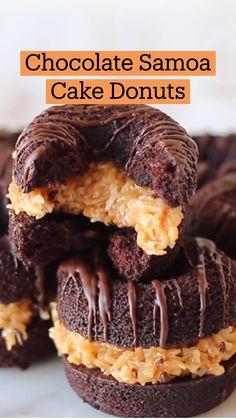 Fun Baking Recipes, Donut Recipes, Sweet Recipes, Cooking Recipes, Just Desserts, Delicious Desserts, Yummy Food, Best Dessert Recipes, Food Cravings