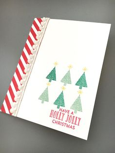 Stitched with Cheer - Holiday mini catalog 2016. Rebecca Fellows, Stampin' Up! Demonstrator