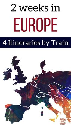 Europe Travel - plan your trip with these 4 detailed itinerary suggestions to discover Europe by Train - Including best activities, suggested places to stay, best food to try.... Plus general tips to chose and plan ahead | #Europe | Europe Bucket List | Places to visit in Europe | Europe destinations | Europe trip tips | Europe itinerary