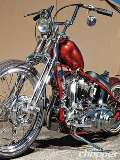 1955 Harley Davidson Panhead Chopper #motorcycleharleydavidsonchoppers