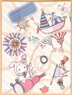 Setting this as my background pronto Sentimental Circus, Chibi Food, Cute Themes, Japanese Stationery, Cute Clipart, Sanrio Characters, Cute Chibi, Creepy Cute, Kawaii Cute