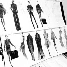 arthur aleksander | Otis Senior Collection Autumn-Winter 2014 - fashion illustration