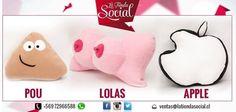 Cojines decorativos más info www.latiendasocial.cl