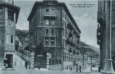 1937 - Fiume - Salita del Calvario e Via Giovanni Bovio