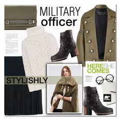 """""""Kick Up the Leaves (Stylishly) With SOREL: CONTEST ENTRY"""" by nanawidia ❤ liked on Polyvore featuring Burberry, Neil Barrett, Diane Von Furstenberg, Andrea, ZeroUV, SOREL, polyvoreeditorial, polyvorecontest and sorelstyle"""