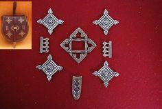 Gniezdovo / Rus Bronze Bag plates set replica Vikings, Viking Age, Paintball, Plate Sets, Byzantine, Dremel, Larp, Pendant Jewelry, Mythology