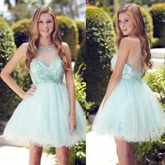 Sparkly see through tulle cute Bohemian cute freshman graduation homecoming prom dress The rsparkly see through tulle Bohemian homecoming dresses are fully lined, 8 bones in the bodice, chest pad in t Cute Homecoming Dresses, Prom Dresses, Formal Dresses, Graduation Dresses, Formal Prom, Dress Prom, Dresses Uk, Bridesmaid Dress, Wedding Dresses