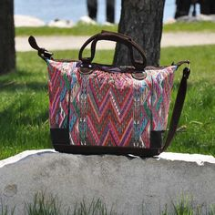 Tribal Pattern Traveling Bag by Tienditaboutique on Etsy
