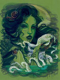Lovecraftian art.