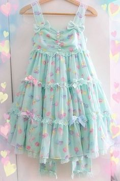 kawai fairy kei summer dress
