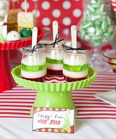 Whimsical Grinch Inspired Who liday Party