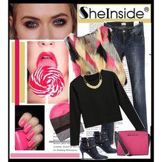 """Sheinside"" by ruza-b-s on Polyvore"