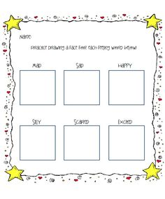 """Feelings Lesson Plan and Worksheet- For Use with """"Today I Feel Silly"""" by Jamie Lee Curtis - The Creative School Counselor Elementary School Counseling, School Social Work, School Counselor, Feelings Activities, Social Skills Activities, Mindfulness Activities, Counseling Worksheets, Counseling Activities, Therapy Worksheets"""
