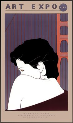 Art Expo San Francisco poster by Patrick Nagel
