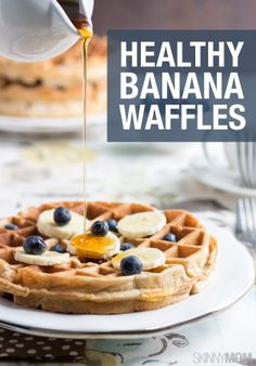 These waffles are HEALTHY!