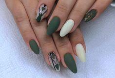 Verde opaco bianco opaco particolari