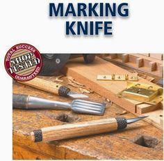 Ah! E se falando em madeira...: confecção de faca marcador