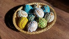 velkonocne vajicka Easter Crochet