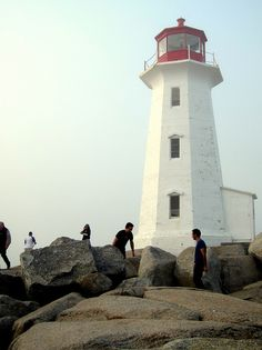 Peggy's Cove Lighthouse by Andrew Bain