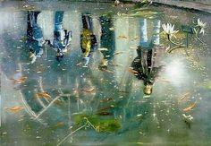 Frank Brunner - - Cynthia Broan Gallery, New York, NY New York Exhibitions, Brooklyn Botanical Garden, Modern Art Sculpture, Sci Fi Fantasy, Museum Of Modern Art, Park City, Metropolitan Museum, Art History, Oil On Canvas