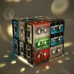 #VidaRifel Reusa tus cassettes y conviértelos en una lámpara