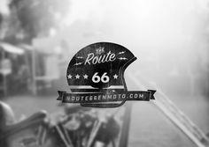 Route66 by Sergi Ferrando, via Behance