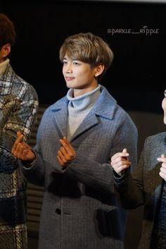 161129 Minho - 'Derailed' Stage Greeting at Lotte Cinema Konkuk University