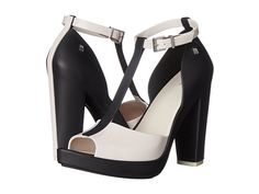 Melissa Shoes Bite Black/Beige - 6pm.com · Sandal WedgesWedge HeelsWomen's  ...