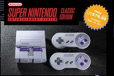 La Super NES Classic viene a rememorar los recuerdos de los usuarios que disfrutaban por los 90s de los videojuegos.