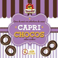 Vamos a terminar la semana con nuestros riquísimos aros cubiertos del mejor chocolate y con sabor a galleta, apetece algo dulce para el fin de semana.   ¡Qué empiece ya! 😄