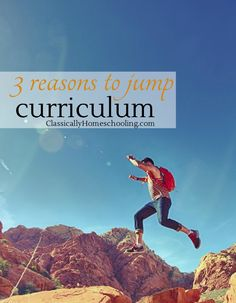 There are times you need to jump curriculum
