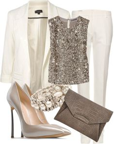 Elegant Polyvore Combinations For A Holiday Office Party