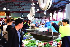 Queen Victoria Marketin Melbourne, Australia This Market is busy the whole week. You'll find nearly everything to buy here. Food stands, fruits, fish & meat, vegetables, clothes and more. Map You might also like Great Ocean Road Pinnacles Jurien Bay here we come Sukiennice,...