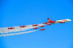 Air Malta & Red arrows   Flickr - Photo Sharing!