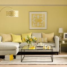 Sunny yellow living room | Interior design ideas | PHOTO GALLERY | Ideal Home | Housetohome.co.uk