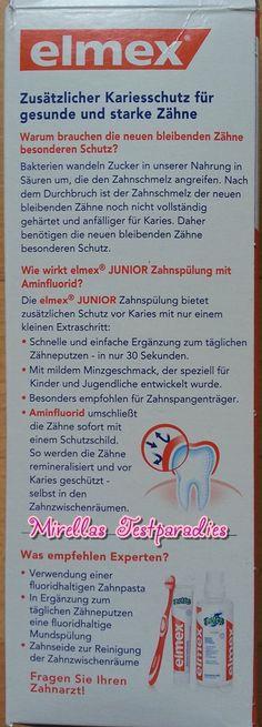 Mehr zu der elmex Junior Zahnspülung.