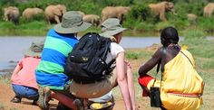 The best walking/cycling safaris in Kenya.