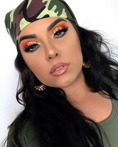 "16.3k Likes, 77 Comments - Juvia's Place (@juviasplace) on Instagram: ""In love with this look by @gxldvibe ・・・ Army Brat - EYES: @juviasplace The Zulu palette Yellow,…"""
