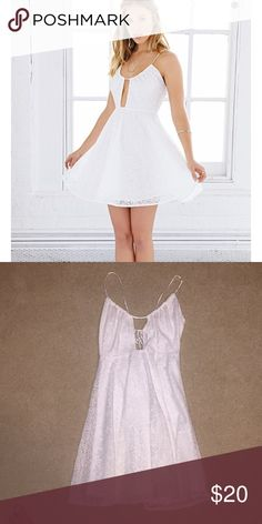 White lace love Sadie urban outfitters dress Never worn before perfect condition but removed tag Urban Outfitters Dresses