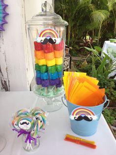 DIY Marshmallow rainbows