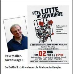 LE 2 JUIN 2013, fête de Lutte Ouvrière à Mulhouse !