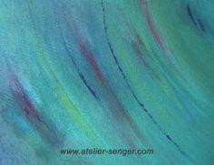 Stürmische See, 80 x 60 cm. Bitte hier klicken: www.art-senger.com #malerei #kunst #art #energie