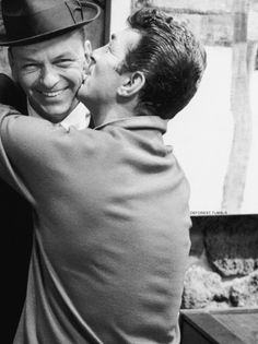 """""""It's a pleasure to be here. Frank asked me to come over. Well, he told me to come here. Just this morning we flew in. We didn't even take the airplane. We just flew right in. We do that on the weekends."""" - Dean Martin."""
