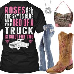 The Bed Of A Truck Outfit - Real Country Ladies