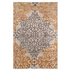 "Severine 5'6"" X 8'6"" Hand Knotted Medallion Rug"